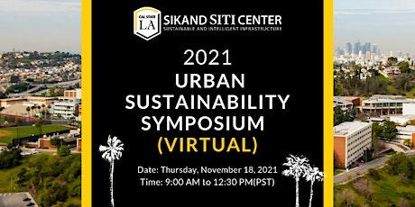 2021 Urban Sustainability (virtual) Symposium tickets