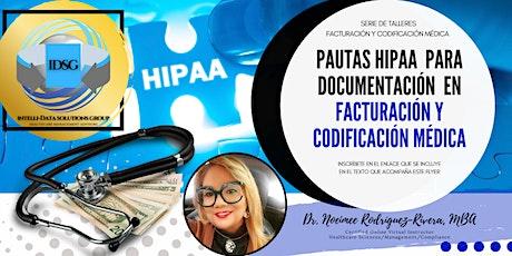 Webinar: Pautas HIPAA para Documentación en Facturación/Codificación Médica entradas