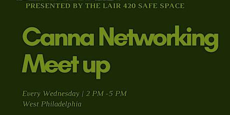 Canna Networking Meet up tickets
