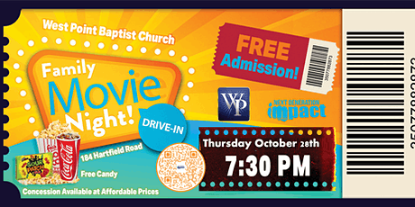 West Point's Fall Family Drive-In Movie Night tickets