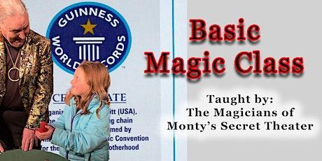 Magic Class tickets
