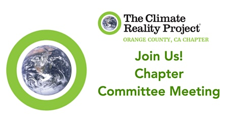 Climate OC Chapter Committee Meetings tickets