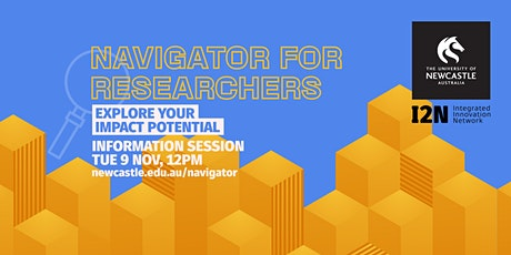 Navigator for Researchers Information Session tickets