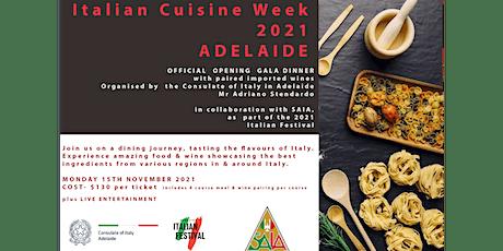 Adelaide Italian Festival- Opening Gala Dinner tickets