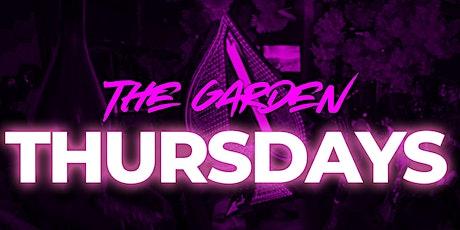 Garden Thursday's tickets