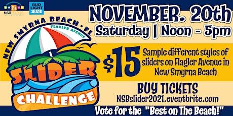 New Smyrna Beach Slider Challenge on Flagler Avenue tickets