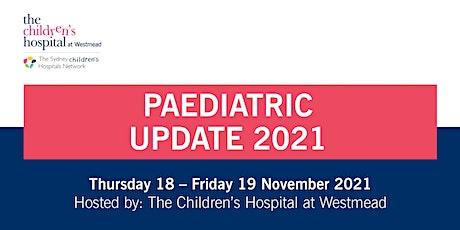 Paediatric Update 2021 tickets