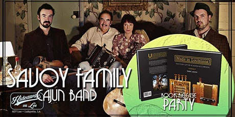 Savoy Family Band & Book Release Party (Dance Floor Open) tickets