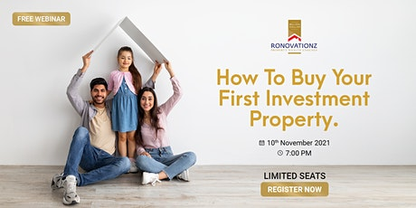 How to buy your First Investment Property. tickets