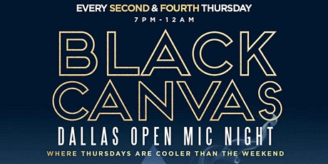 Black Canvas October 28th Table Reservations tickets