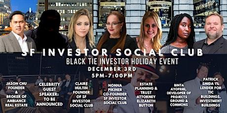 BLACK TIE INVESTOR HOLIDAY EVENT tickets