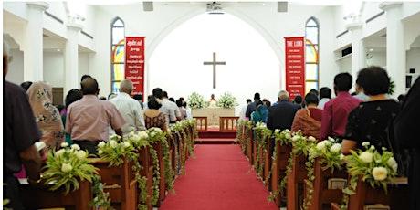 80 PAX Tamil Holy Communion VET Service | 31 October  2021 | 07:15 tickets