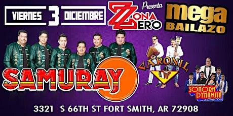 Samuray & Varonil &Sonora Dinamita tickets