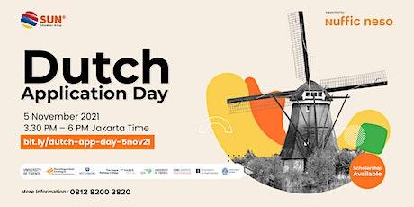 Dutch Application Day 05 November 2021 tickets