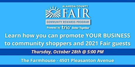 Alameda County Fair + Trio Rewards, Inc. - Networking Event tickets