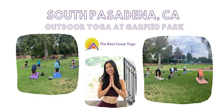 Outdoor  Community Power Yoga at Garfield Park, South Pasadena, CA tickets