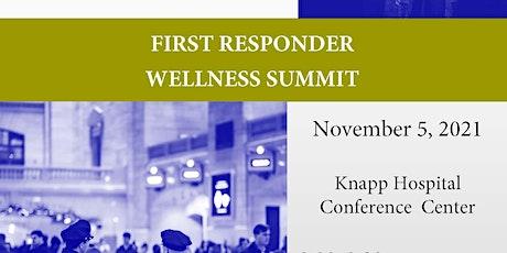 First Responder Wellness Summit tickets