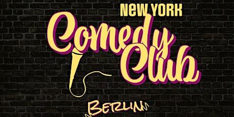 Free New York Comedy Club - Berlin: Showcase Show tickets