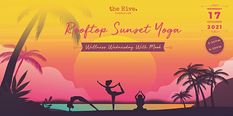 Rooftop Sunset Yoga with Mook tickets