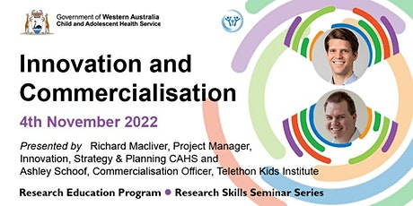 Innovation and Commercialisation tickets
