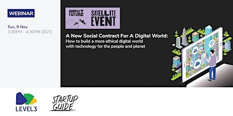 A New Social Contract For A Digital World biglietti