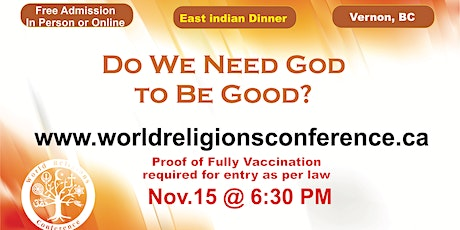 Do  We Need God to be Good? tickets