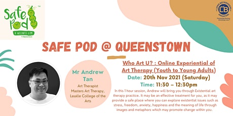 Who Art U? : Online Art Therapy Experiential Workshops tickets