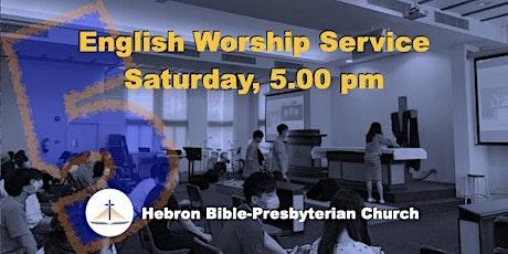 Sat, 5 ㏘ English Worship Service tickets