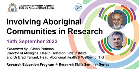 Involving Aboriginal Communities in Research tickets