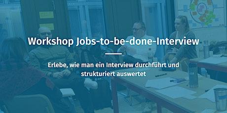 Online Workshop JTBD-Interviews (Deutsch) Tickets