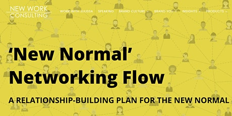 New Normal Networking Flow 2022 Planner Workshop tickets
