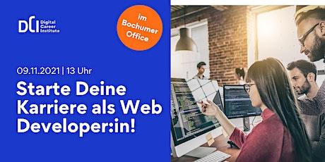 Workshop in Bochum - Starte Deine Karriere im Web Development! Tickets