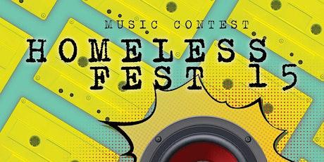 Homeless Fest 15 - le selezioni biglietti