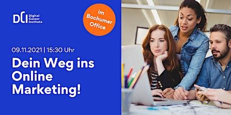 Workshop in Bochum - Starte Deine Karriere im Online Marketing! Tickets