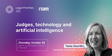 Tania Sourdin: Judges, technology and artificial intelligence tickets