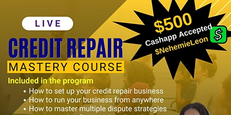 Build your own Credit Repair business tickets