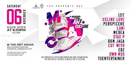 TSV Presentz MAC (Music Art Culture) tickets
