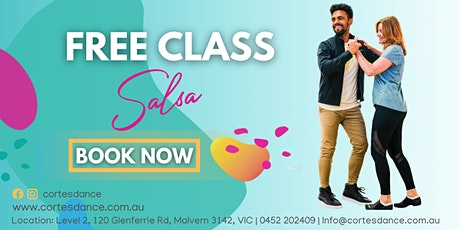 SALSA - FREE INTRO CLASS | For Absolute Beginners tickets