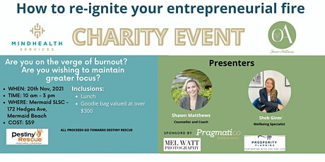 Re- Ignite Your Entrepreneurial FIRE! tickets
