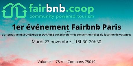 1er Evènement Fairbnb.coop Paris billets