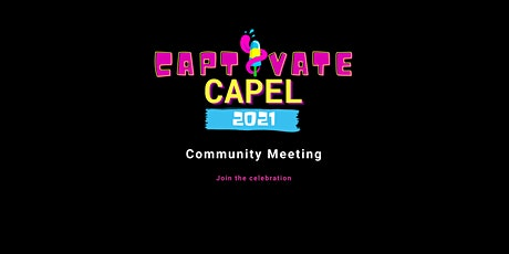 Community Stakeholder  Meeting - Captivate Capel tickets
