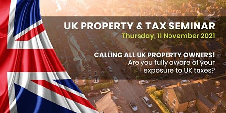 UK Property and Taxes - Property Pension tickets