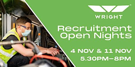 Wrightbus Recruitment Open Nights tickets