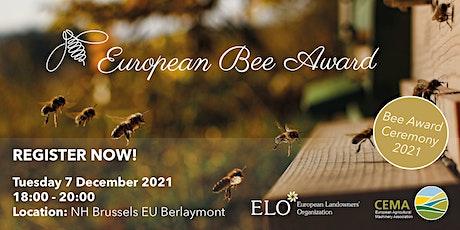 European Bee Award Ceremony 2021 tickets
