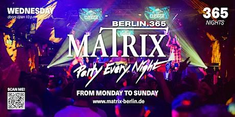 """Matrix Club Berlin """"Ladies Night"""" 10.11.2021 tickets"""
