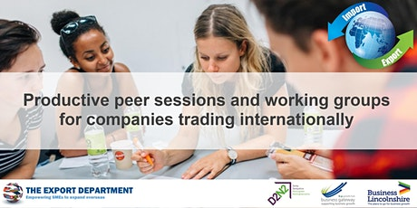'International Trader' Network and Support (Lincolnshire) tickets