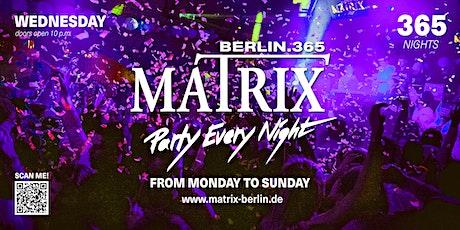 """Matrix Club Berlin """"Ladies Night"""" 17.11.2021 tickets"""