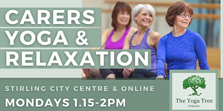 Free Yoga Sessions for Carers tickets