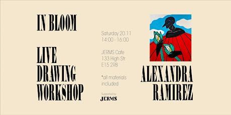Live Drawing Workshop with Alexandra Ramirez tickets