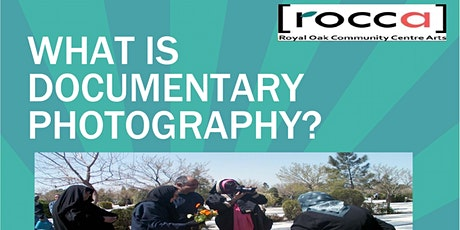 What is Documentary Photography? tickets